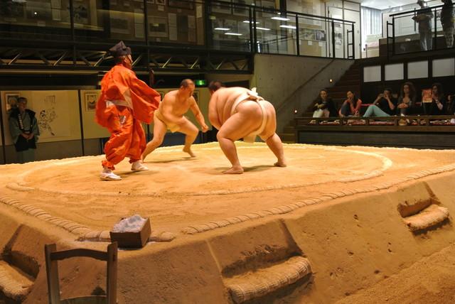 相撲体験|日本の寺子屋